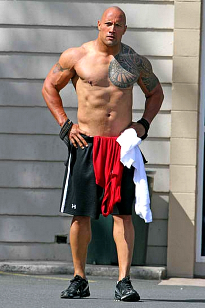 Dwayne Johnson Body