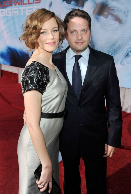 Elizabeth Banks and Max Handelman