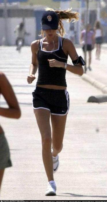 Gisele Bundchen Running Workout