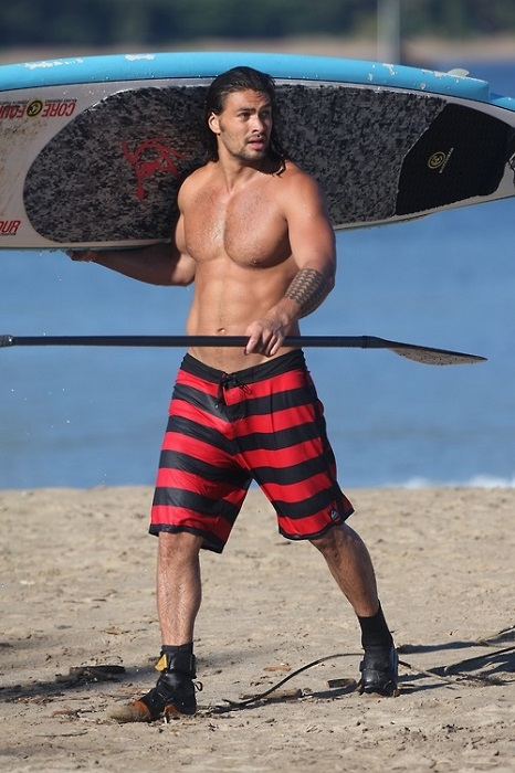 Jason Momoa shirtless body