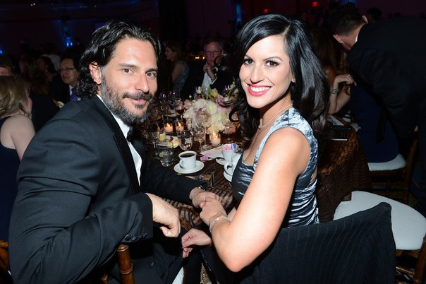 Joe Manganiello and Bridget Peters