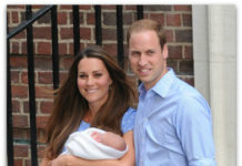 Kate Middleton Prince Williams with son Prince George
