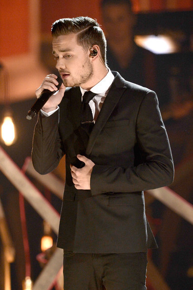 Liam Payne during American Music Awards Show 2013