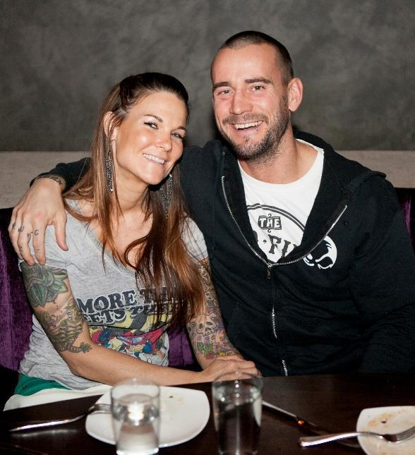 Lita and CM Punk
