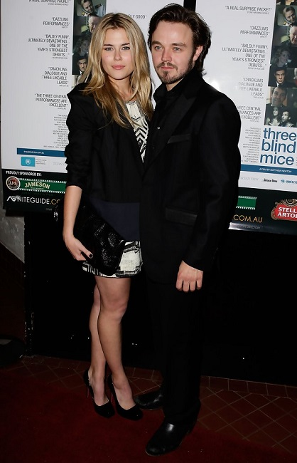 Rachael Taylor with Matthew Newton