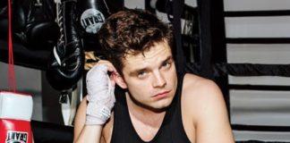 Sebastian Stan boxing workout