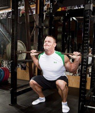 WWE John Cena Bodybuilding