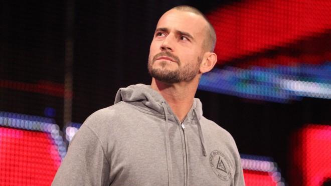 Wrestler CM Punk
