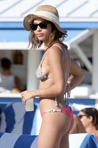 Zoe Kravitz Bikini Miami Beach