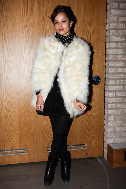 Zoe Kravitz as Fashion Model