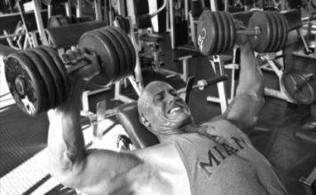 dwayne johnson gym workout