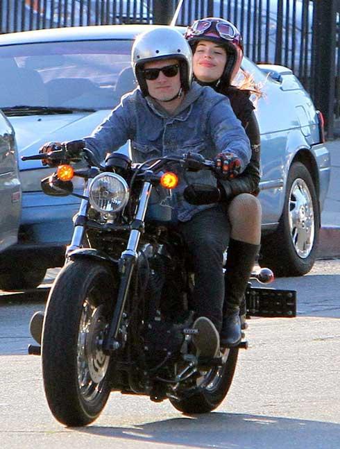 Josh Hutcherson and Chloe Bridges