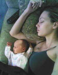 sleep well post pregnancy to lose weight