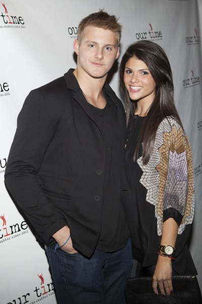 Alexander Ludwig and Nicole Marie Pedra