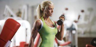 Athletic build exercises women