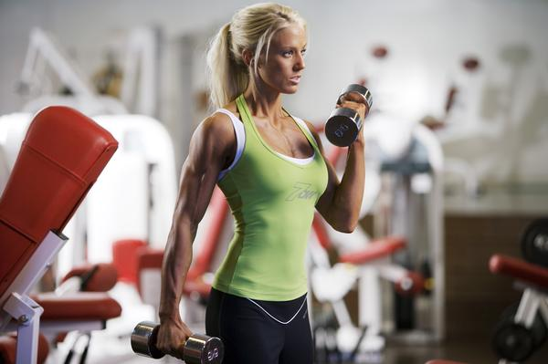 Athletic build exercises women