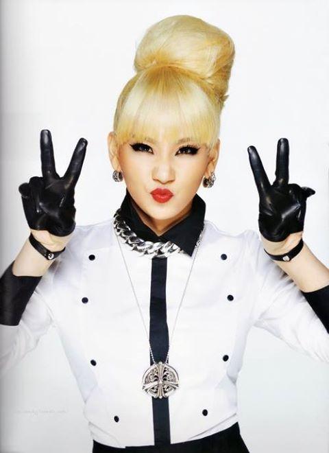 CL 2NE1 leader