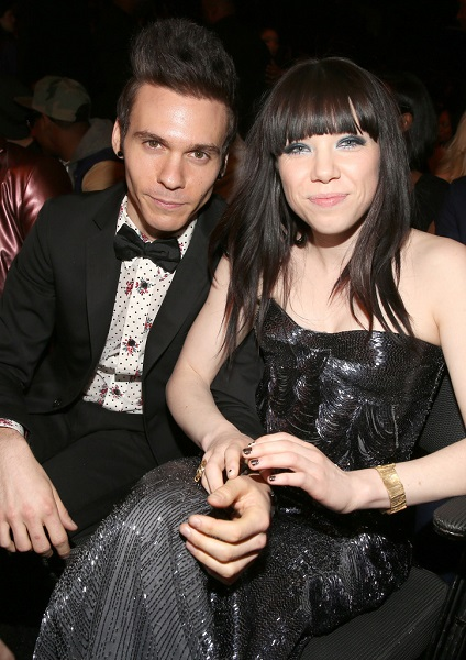 Carly Rae Jepsen with Matthew Koma