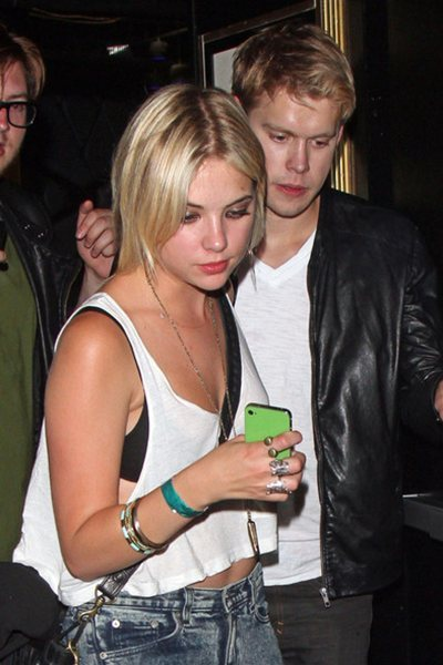 Chord Overstreet and Ashley Benson