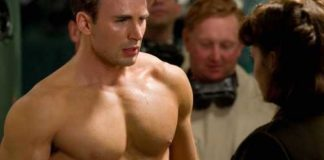 Chris Evans for Captain America-Workout