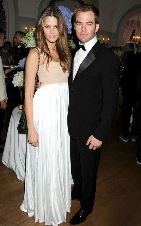 Chris Pine and Dominique Piek