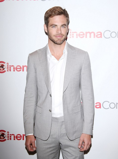 Chris Pine Star Trek actor
