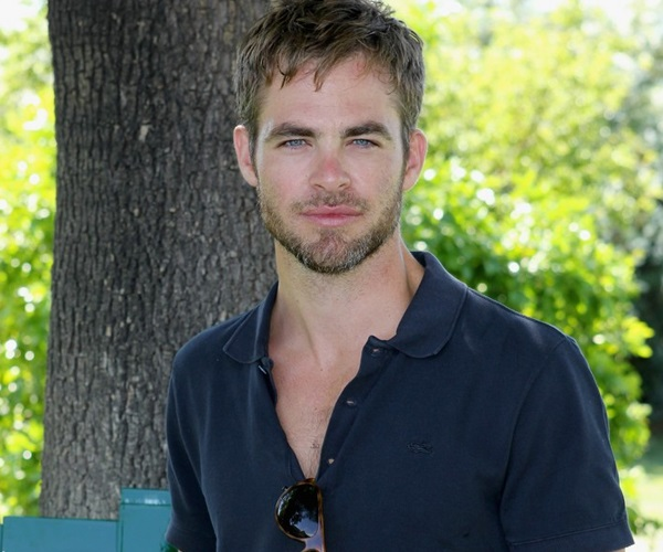 American actor Chris Pine