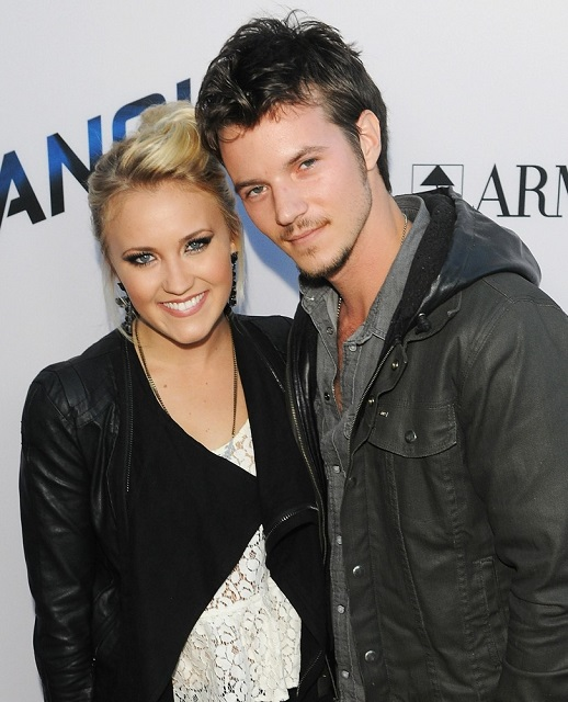 Emily Osment and Nathan Keyes