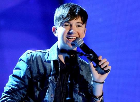 Greyson Chance singing