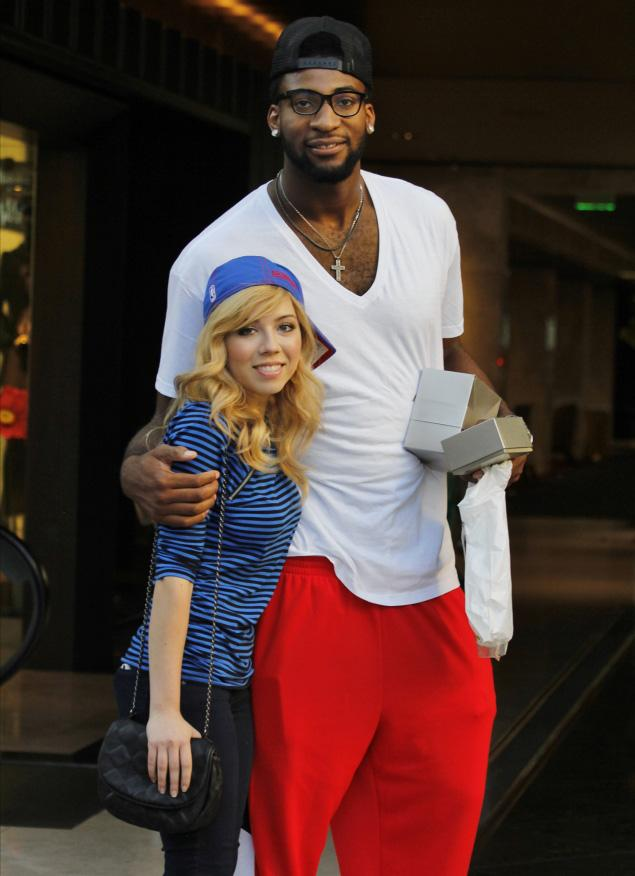 Jennette McCurdy and Andre Drummond