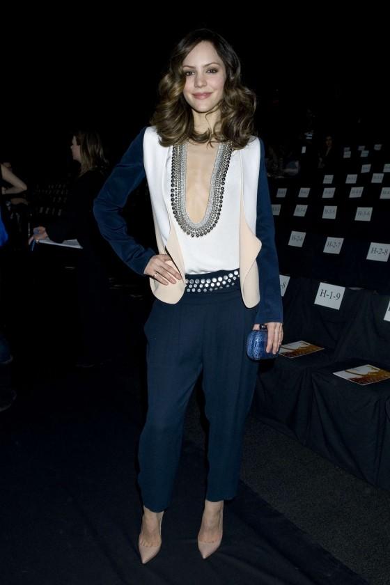 Katharine McPhee 2013 Fashion Show