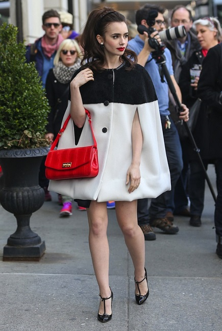 Lily Collins Height We...