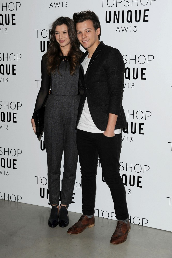 Louis Tomlinson with Eleanor Calder
