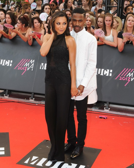 Naya Rivera with Big Sean