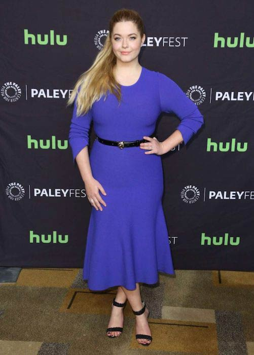 Sasha Pieterse at Pretty Little Liars Presentation at 2017 Paleyfest