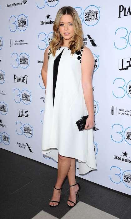 Sasha Pieterse during Independent Filmmaker Grant and Spirit Awards Brunch 2015 in West Hollywood.