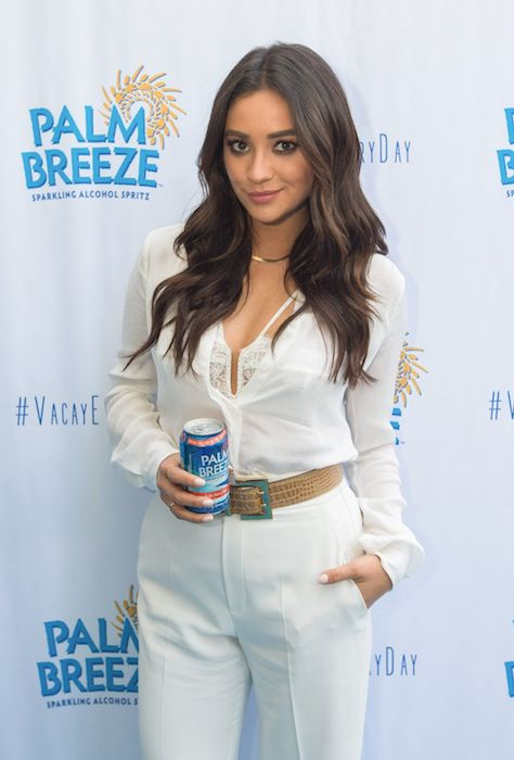 Shay Mitchell at Palm Breeze Launch in Santa Monica, California in April 2015