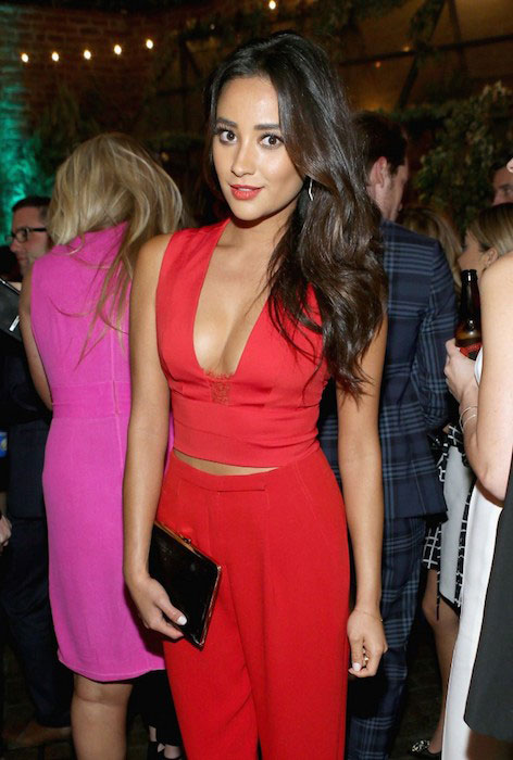 Shay Mitchell during Vanity Fair and FIAT Celebration of Young Hollywood 2015