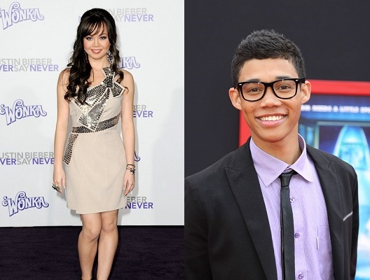 Anna Maria and Roshon Fegan