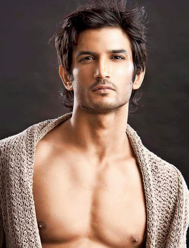 sushant singh rajput shirtless