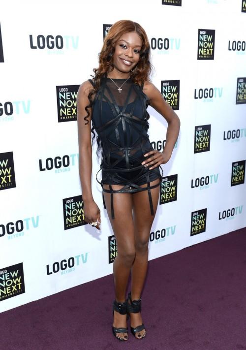 Azealia Banks during BET 2013 Awards