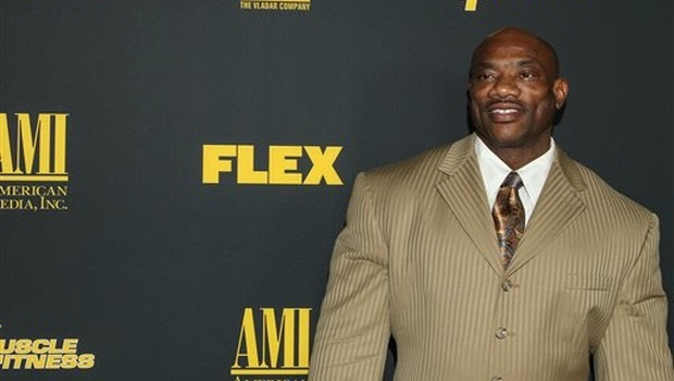 Bodybuilder Dexter Jackson