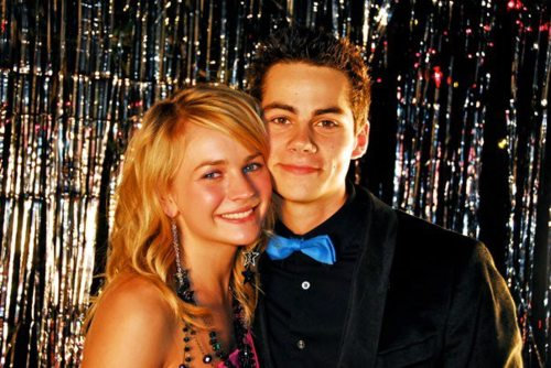 Britt Robertson and Dylan O'Brien