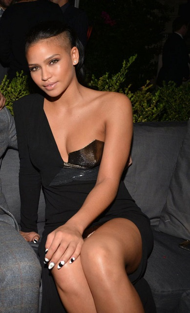 Cassie Ventura at GQ Men of The Year Party in 2012 at Los Angeles