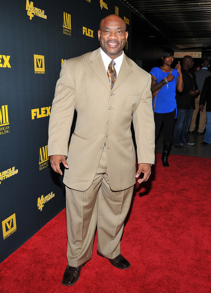 Dexter Jackson in suit