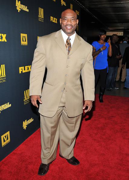Dexter Jackson in suit