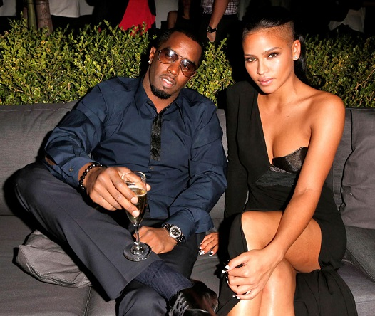 Diddy and Cassie at the GQ Men of the Year 2012 party