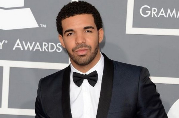 Drake during Grammys in 2013