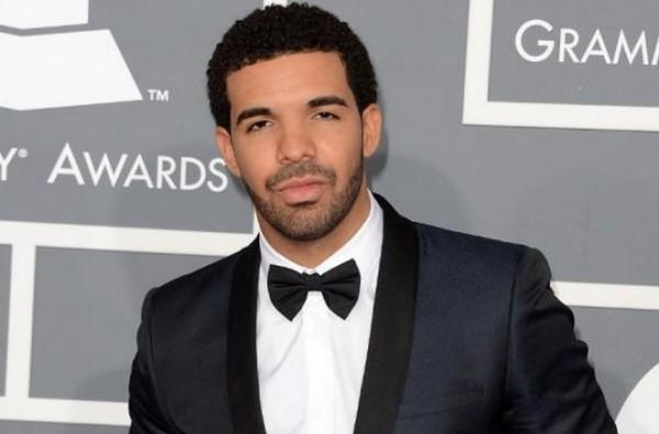 Drake during Grammys in 2013