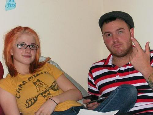 Hayley Williams and boyfriend Chad Gilbert